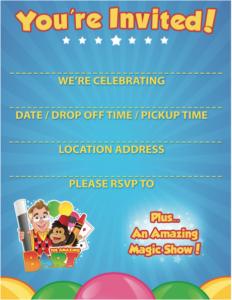 Free Amazing Bart Invitation